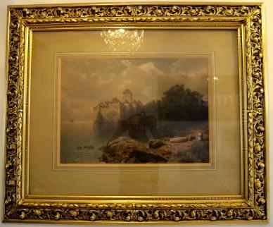 Landschaft am Gardasee , um 1880