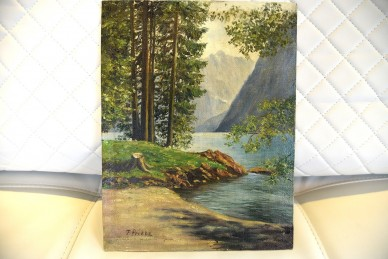 Wald am Bergsee, F. Priebe 1931