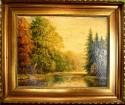 Romantischer See im Wald, Reidjardt, 1902