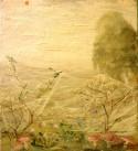 Pilze im Morgennebel auf Waldlichtung, FRANZ HUGO LINÉR, 1928