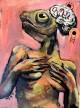 Die Nymphomanin, Surrealismus, A. K. Uhlmann, 2015