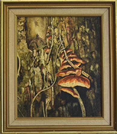 Pilze und Motten, Courtenay Hosking, 1968