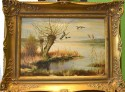 Wildenten über dem Moorsee, Kattinger, 1938