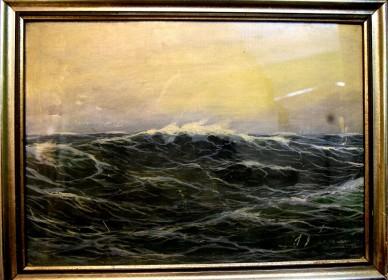 Das Meer  Franz Stieg, 1928
