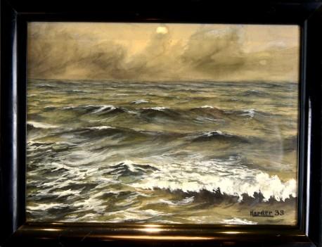 Wellen im Meer, Harder, 1935