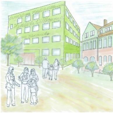 Immobilie zur Flüchtlings Unterbringung in Leipzig