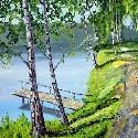 See. Teich, Bach, Fluss, Moor, 泊 - KUNST ZUM MIETEN, LEIHEN