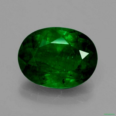 Smaragd - 4,46 Karat Grün