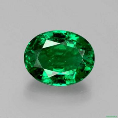 Smaragd - 2,47 Karat Grün