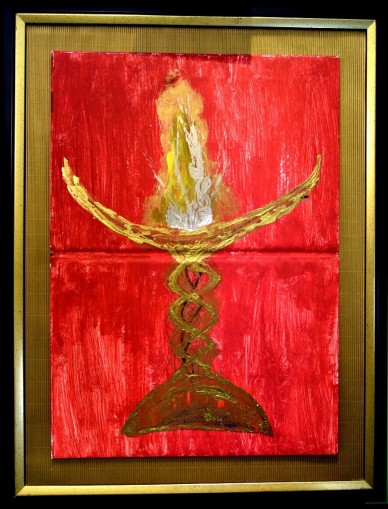 Part I. - Die verschlungenen Wege des Goldes, signiert, 1994