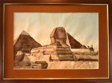 Im Banne der Sphinx Pyramiden, Helmut Galster, 1954