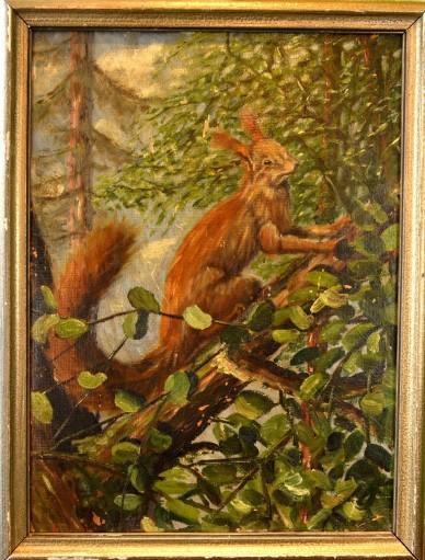 Der Eichkater im Geäst, Kutz, 1948