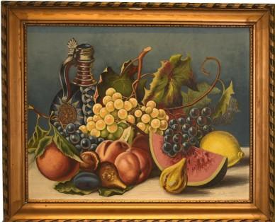 Garten Eden, impressionistisches Stillleben, Gustav Römer, 1921